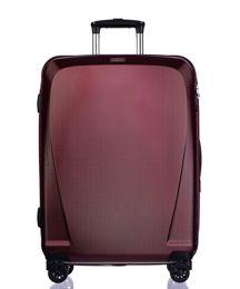Duża walizka PUCCINI PC019A bordowa
