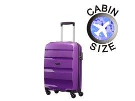 Mała walizka AMERICAN TOURISTER 85A*001 fioletowa