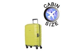 Mała walizka PUCCINI PP008 C zielona limonka